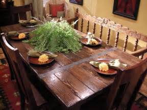 How To Build Dining Room Table by How To Build A Dining Table From Salvaged Lumber How Tos