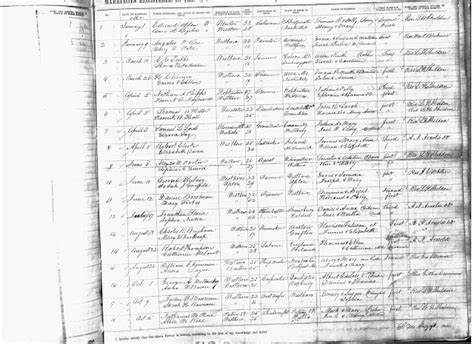Worcester Marriage Records Genea Musings 1862 Marriage Record Of Buck Brigham Newton To Jonathan