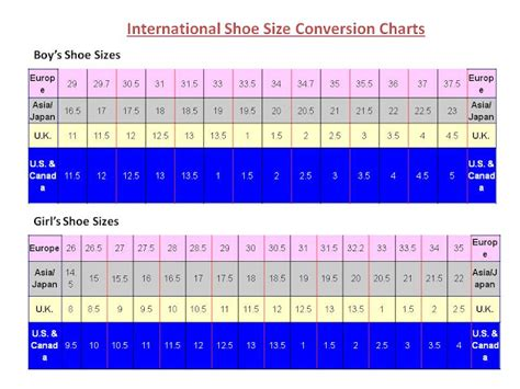 shoe size chart european to australian europe shoe size conversion to australia
