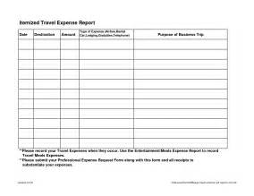 blank expense report helloalive