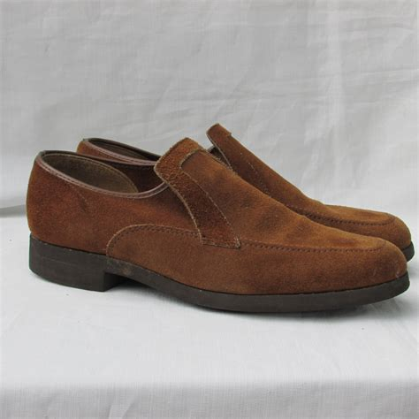 mens suede loafers sale sale hush puppies suede loafers mens size 7 slip on
