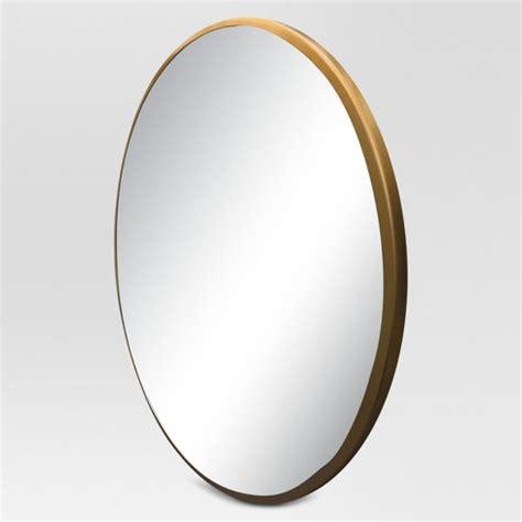 target round mirror round decorative wall mirror brass project 62 target