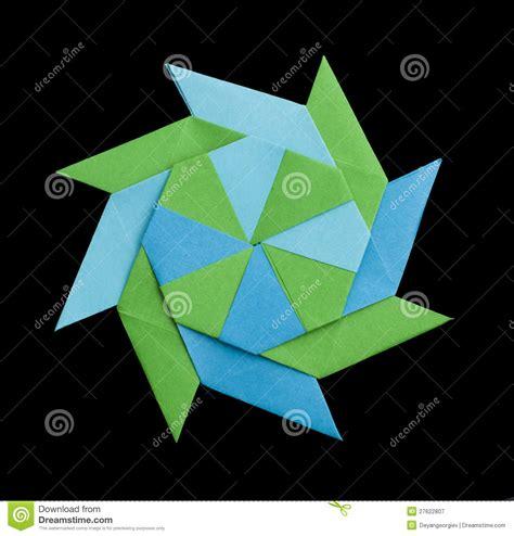 figuras geometricas origami figura geom 233 trica origami fotograf 237 a de archivo libre de