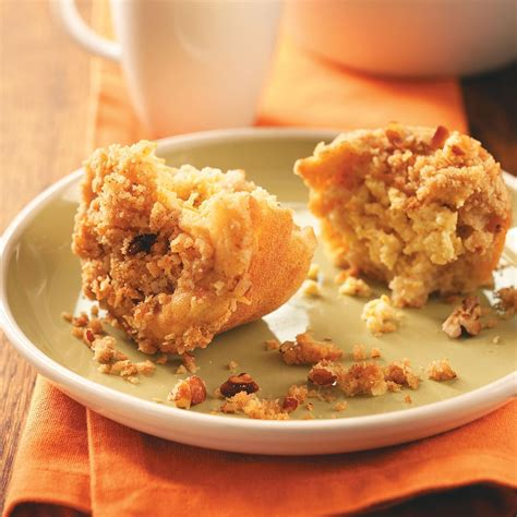 apple crisp muffins recipe taste of home