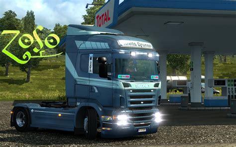 scania rjl highline kivits drunen skin mod euro truck simulator  mods