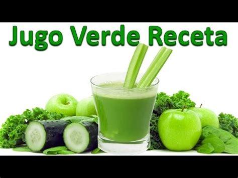 Jugos Detox Para Bajar De Peso Recetas by Jugo Verde Para Bajar De Peso Receta Jugos Para