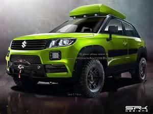 Suzuki Vitara Road Accessories Maruti Vitara Brezza Custom Iab Rendering