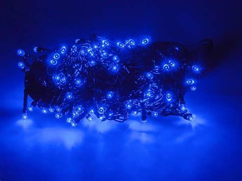 kerstverlichting led blauw kerstverlichting blauw 8 meter 100 leds 8 standen abc