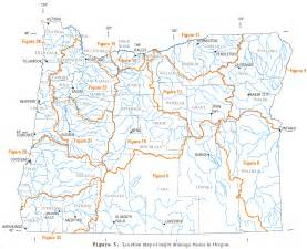Map Of Oregon Rivers by File Usgs Oregon River Basins Png