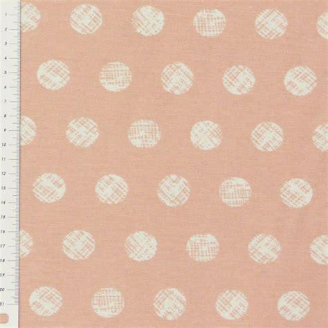 kissen pastell rosa dekostoff gemalte kreise pastell rosa wei 223 gardinenstoffe
