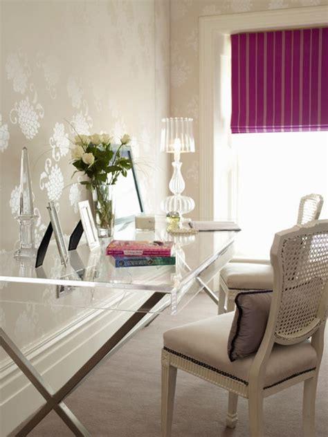 55 Elegant And Exquisite Feminine Home Offices   DigsDigs