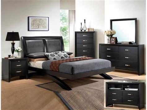 transitional style bedroom furniture crown mark rb4380 galinda king size bedroom set 5pc