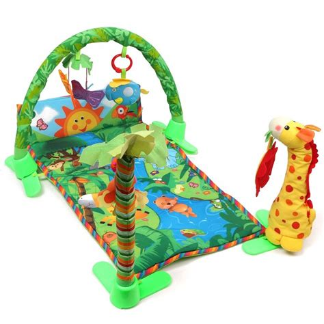Baby Play Mat With Lights by Baby Infant Play Mat Rainforest Musical Melodies