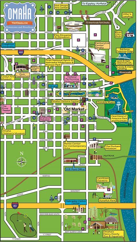 Marriott Residence Inn Floor Plans by Downtown Omaha Map Centurylink Center Omaha Convention