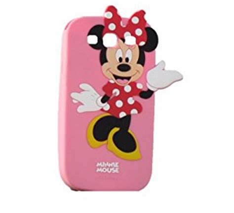 Disney Samsung Grand Duos disney minnie mouse soft silicon back designer 3d cover for samsung galaxy grand