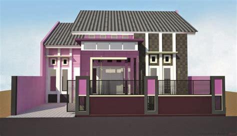 kombinasi warna cat dinding  eksterior rumah