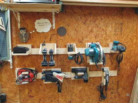 Family Handyman Cabinets by Diy Power Tool Storage System Wilker Do S