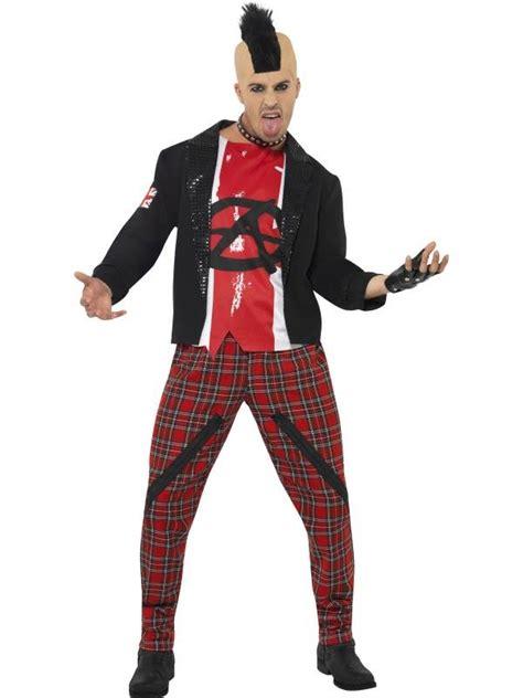 80s punk costume ideas mens mr anarchist fancy dress costume 70s 80s punk rocker