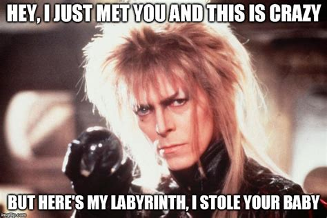 Labyrinth Meme - just met you and this is crazy but here s my labyrinth i memes