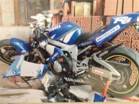 Motorrad Honda Weiß by Vom Pech Verfolgt Totalschaden Unfall Und