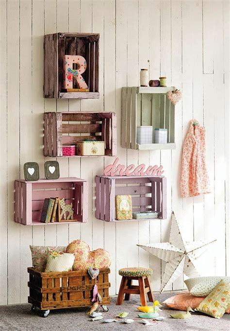 hacer muebles  cajas de madera cajones de madera  decorar