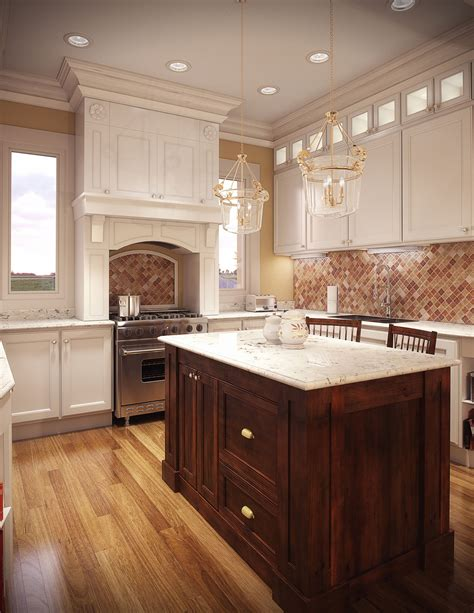Luxury Handmade Kitchens - cgarchitect professional 3d architectural visualization