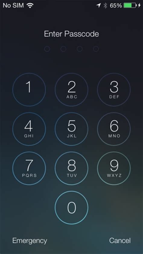 wallpaper iphone 5 unlock ios 7 feature the new lock screen