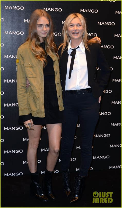 delevingne kate moss snap sexy selfies     mango store appearance photo