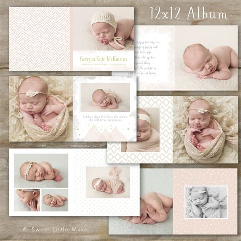 baby photo album layout 13 album templates for all your photo needs