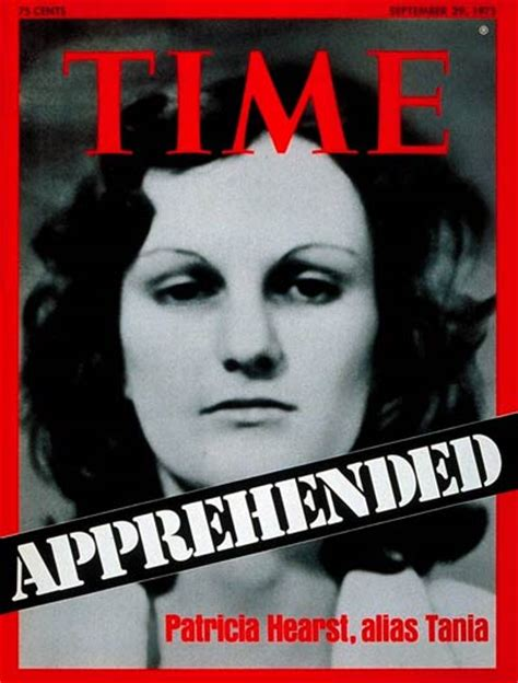 Hearst Magazine Customer Service Time Magazine Cover Patty Hearst Sep 29 1975 Crime
