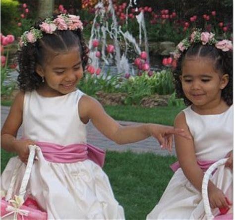 black flower girls hairstyles for weddings dewi image wedding flower girl hairstyles
