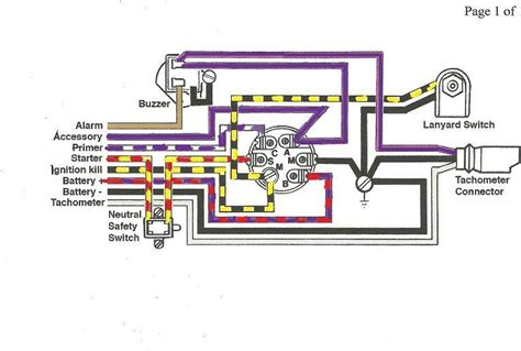 tilt relay 40 hp evinrude wiring diagram on tilt images