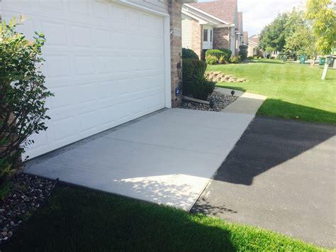 minneapolis garage aprons concrete driveways minneapolis