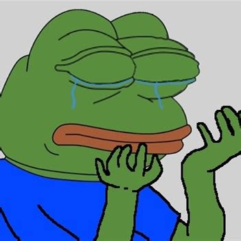 Sad Frog Meme Generator - pepe the frog cry meme generator