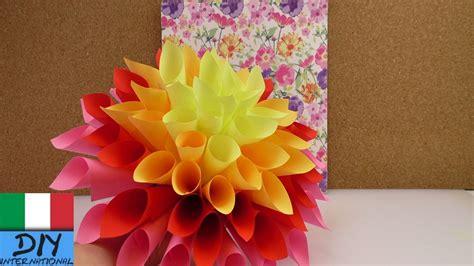 mazzo di fiori di carta mazzo di fiori colorato fiori di carta fai da te