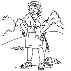 Top 25 David And Goliath Coloring Pages For Your Little Ones sketch template