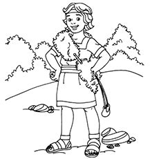 coloring page for david and goliath david and goliath coloring pages lds sunbeams