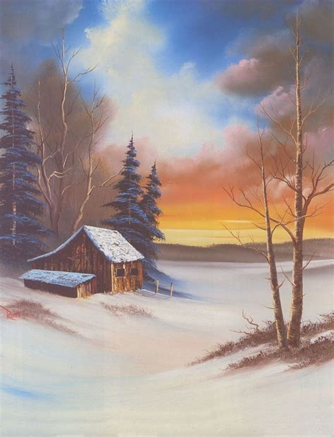 bob ross painting log cabins 25 best ideas about bob ross on bob ross