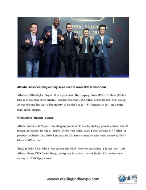 alibaba one day sale record alibaba smashes singles day sales record rakes 5b in
