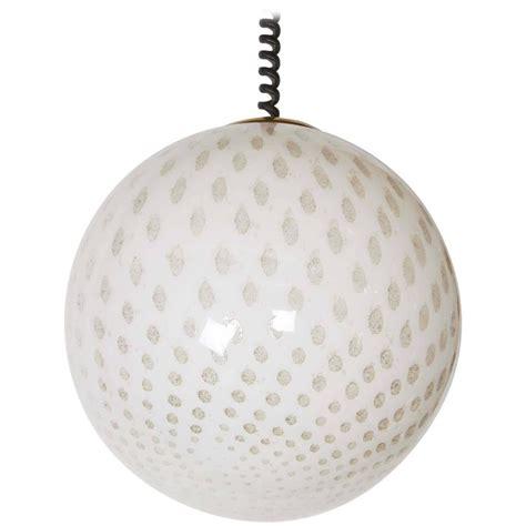 large glass globe pendant light italian 1980s large glass globe pendant light at 1stdibs