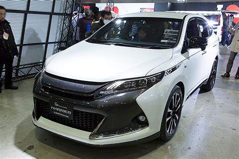 new sports speedicars toyota harrier harrier going out of service autoevolution