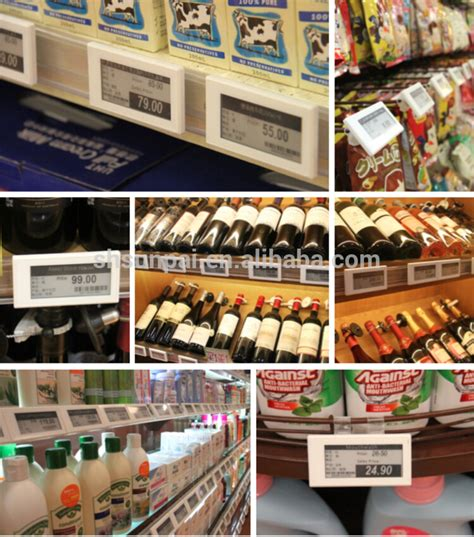 Grocery Store Shelf Labels by E Ink Electronic Shelf Labels Grocery Store Rfid Digital