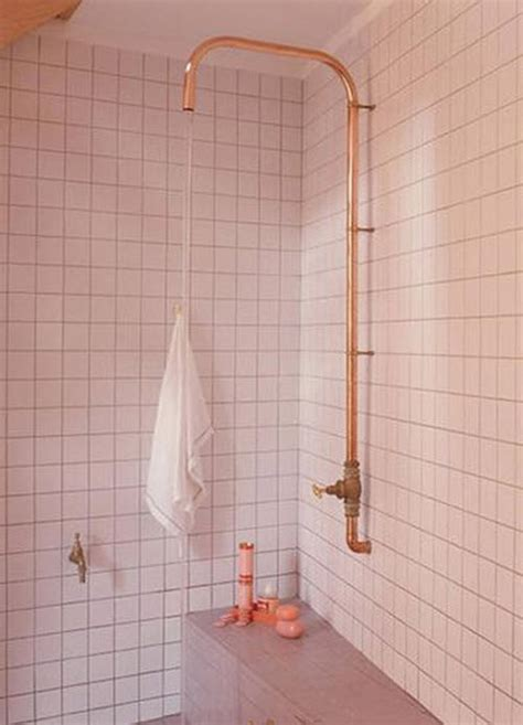 convert copper pipes from tub shower to shower terry 34 4x4 pink bathroom tile ideas and pictures