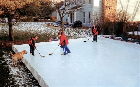 Backyard Skating by Backyard Skating Rink Home Design