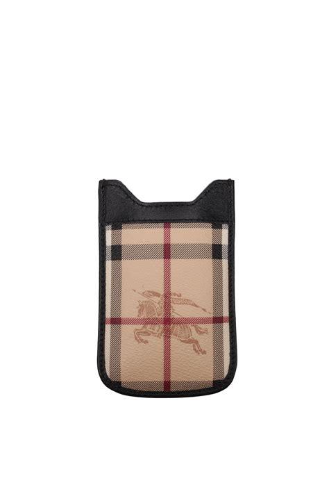 porta iphone 4s porta iphone burberry uomo tessuto nero 3767972 ebay