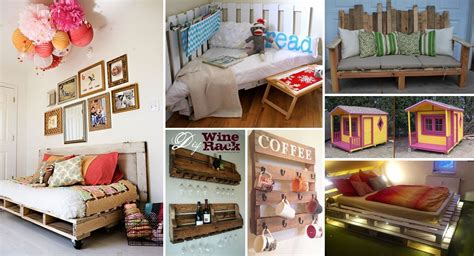 diy idea 40 creative pallet furniture diy ideas and projects