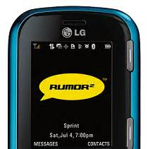 Sprints Power Pack Offers Unlimited Anytime Minutes For 199 A Month by Sprint Announces Availability Of The Lg Rumor2 Cell