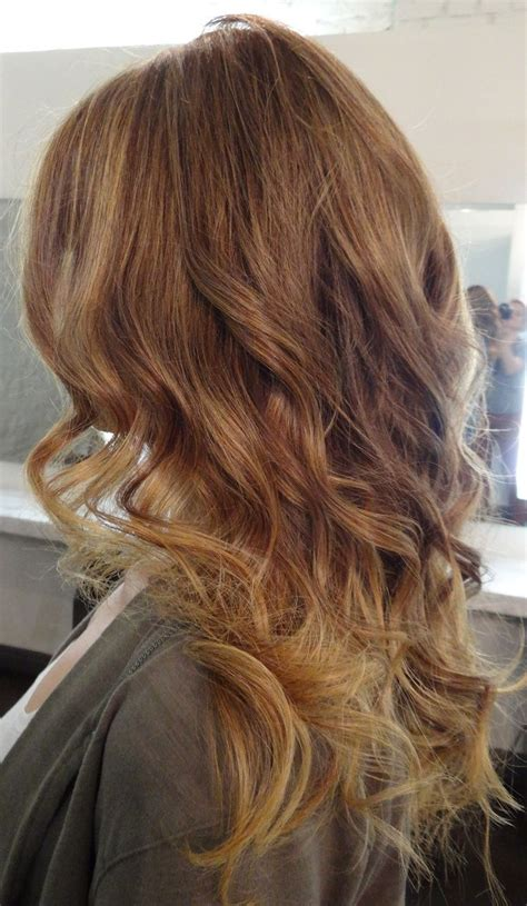 dark brown hair with light brown ombre light golden brown ombre hair pinterest dark blonde