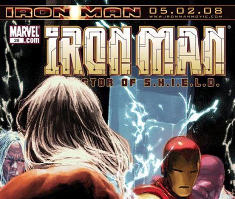 Enya Marvel 26 H iron director of s h i e l d 2007 26 comics marvel