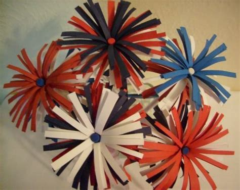 How To Make Fireworks Out Of Paper - 3d fireworks for bulletin board church bulletin boards